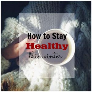 Staying healthy this winter cup in hand