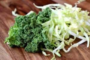 cabbage and kale