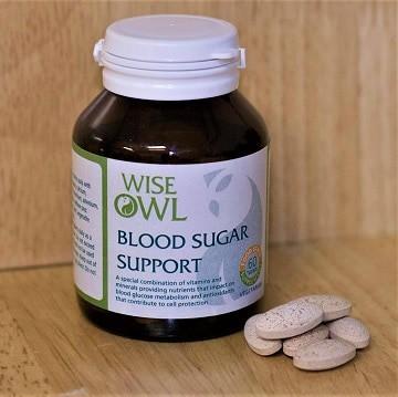 Blood sugar supplement tablets