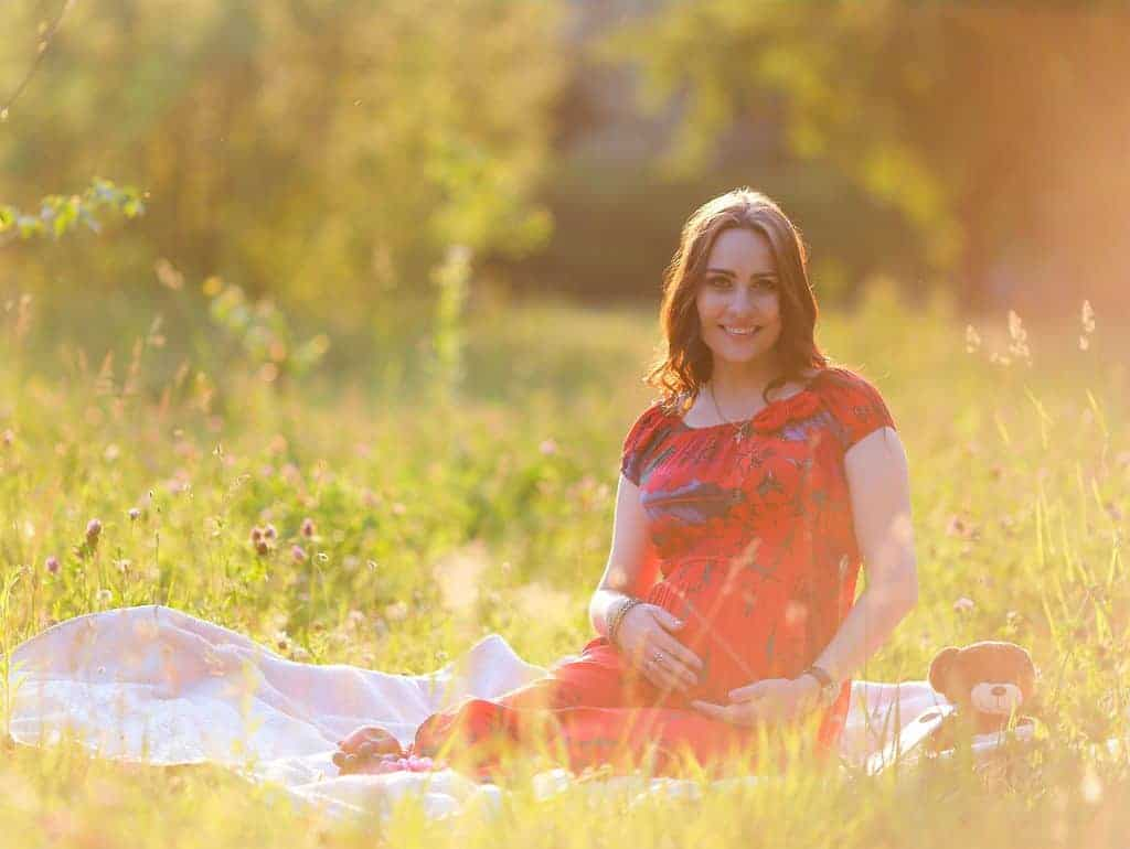 Pregnant woman - nutritional support during pregnancy