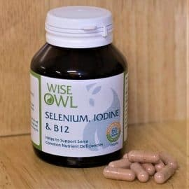 Selenium Iodine & Vitamin B12 Supplement Tablets