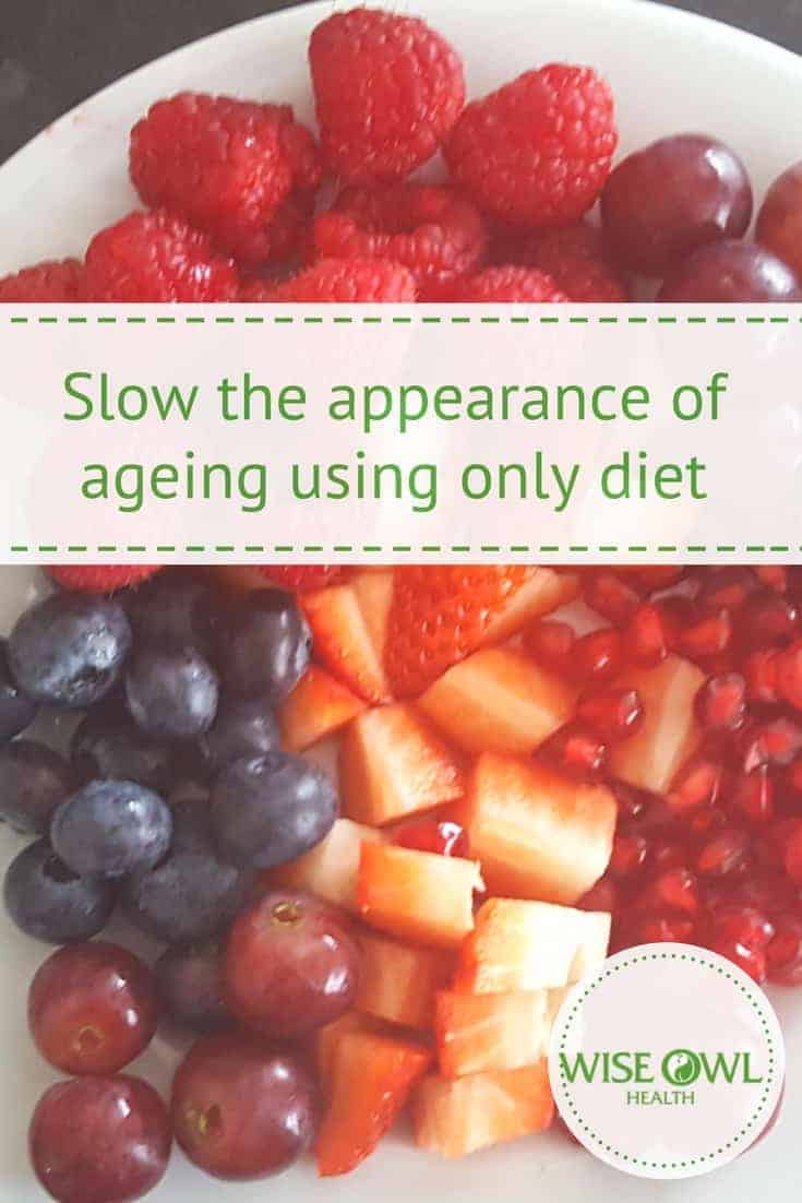 Ageing | How you can slow the process of skin ageing just by making slight alterations to your diet. We are all looking for ways to preserve our youthful looks. But the anti-ageing creams and lotions we are applying might not be the answer. Find out how your diet alone could impact the way your skin ages. #ageing #aging #skin #antiaging #antiageing #diet #nutrition