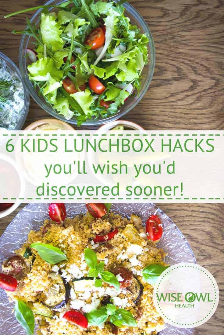 Lunchbox hacks | If your children are fussy eaters, it can be really tough persuading them to eat their lunch. These six hacks will help children to enjoy their lunch and give parents the peace of mind to know that they are eating well and getting the nutrients they need. #kidshealth #nutrition #lunchbox #kidslunch