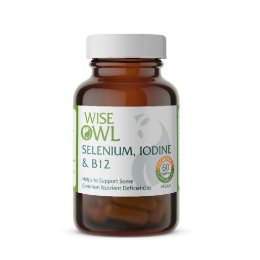 Selenium 200µg with Iodine & B12