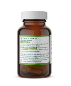 Selenium 200µg with Iodine & B12 Ingredients