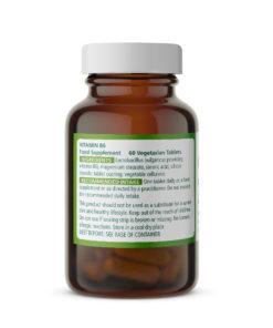 Vitamin B6 20mg Ingredients