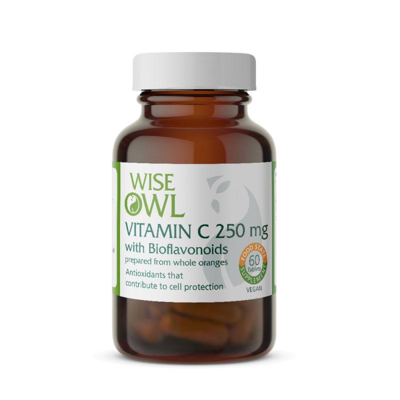 Vitamin C 250mg plus Bioflavonoids