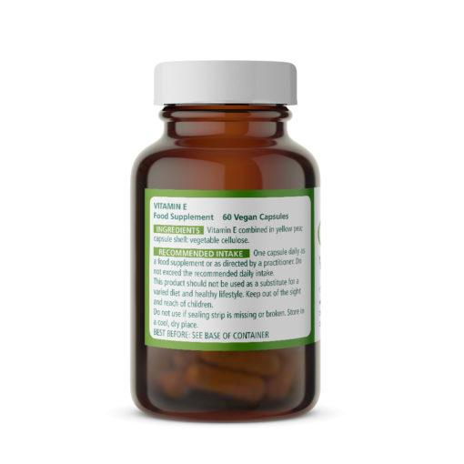Vitamin E 100mg Ingredients